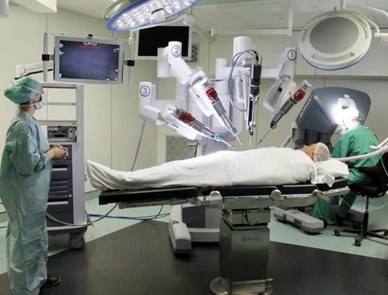 foto da Vinci robot AZ Jan Portaels